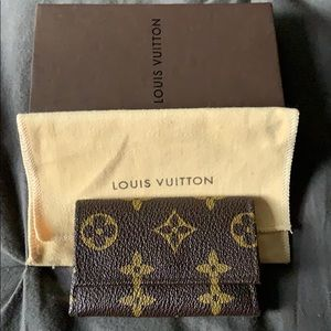 Louis Vuitton original monogram key wallet